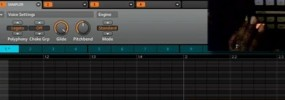 How to make an 808 bass drum glide effect
