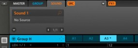 exploring the Maschine control view area