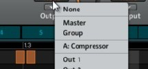 Setting up parallel compression in Maschine using aux routing