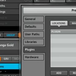 How to load Komplete Elements in Maschine 1.6 – Installing Plugins