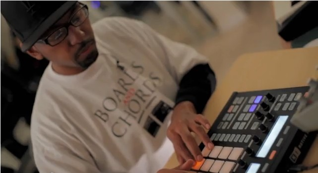f major on maschine