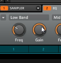 Making your own deep sub bass with the factory waveforms