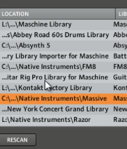 remove komplete presets from the browser