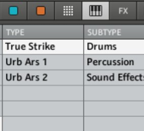 true strike tension presets for maschine