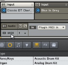 Sequencing multiple channels of Kore in Ableton Live