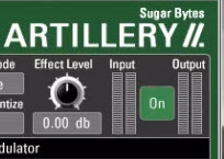 Using Artillery 2 as a master effect and recording automation