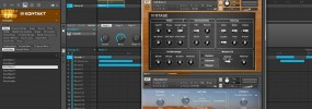 Maschine 2.0 routing multiple channels of MIDI and audio from Kontakt internally