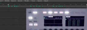 Maschine Studio using the event edit mode to edit your sequences