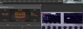 Maschine 2.0 exploring the snare drum synth module
