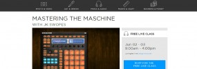 Free live Maschine training course with CreativeLive June 2nd and 3rd