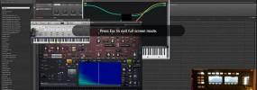 Maschine 2.0 playing chords internally using Cthulhu as a plugin in Minihost