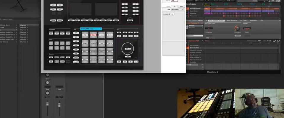 Maschine 2 Recording Scene Changes in Logic X via MIDI
