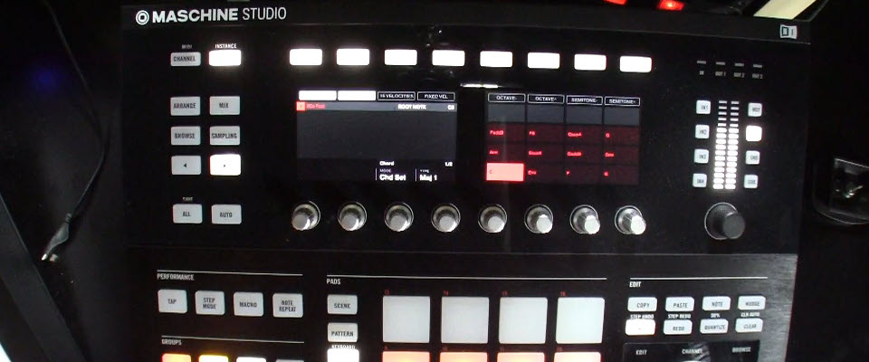 Maschine 2.2 Update Exploring the Chord and Scale Functions
