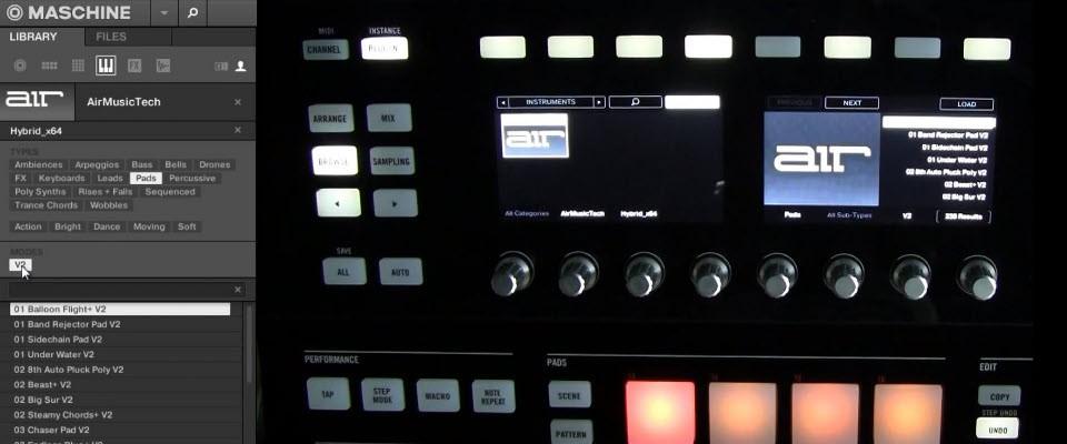 Download: Hybrid 3 VST Presets for Maschine