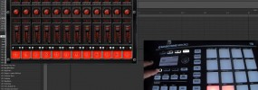 Maschine Mikro how to open and close plugin interfaces from the controller