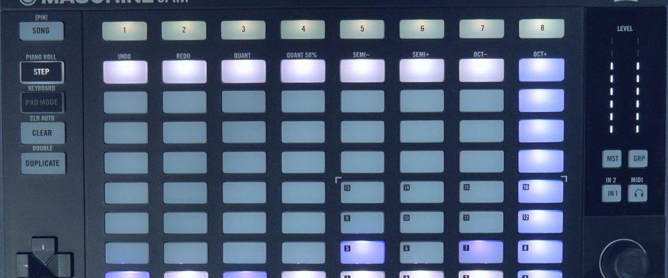 Maschine Jam – Melodic Step Sequencing Using the Piano Roll