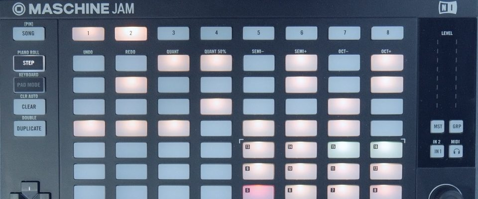 Maschine Jam – Understanding & Using the Step Sequencer