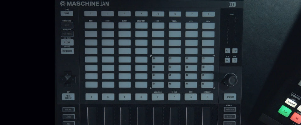 Maschine Jam – Turn Off LED Lights When Not In Use