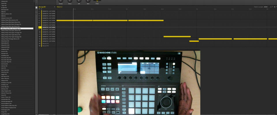 Maschine 2.6 – Mute Automation on Maschine Studio Using Lock Mode
