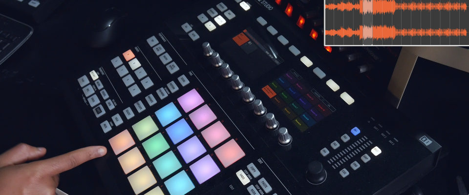 Maschine Studio Slicing Samples & Applying To Separate Pads