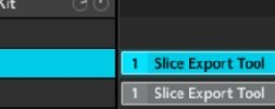 How to export slices and chops as individual wave files
