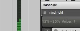 Maschine in EnergyXT – Tracking out audio in real time