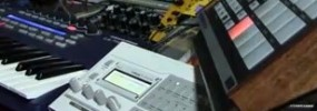 Using the Virus TI synthesizer in Maschine