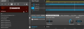 Maschine 2.0 importing third-party and user presets for MASSIVE