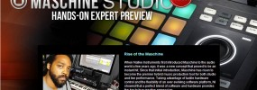 Preview of Maschine Studio & the 2.0 software featured on American Musical