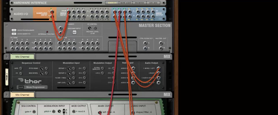 Maschine 2.0 routing multiple channels of Reason 7 Audio and Midi ...
