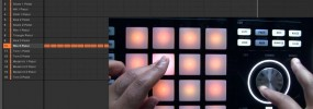 Maschine Studio quick adjust tune, volume, and swing
