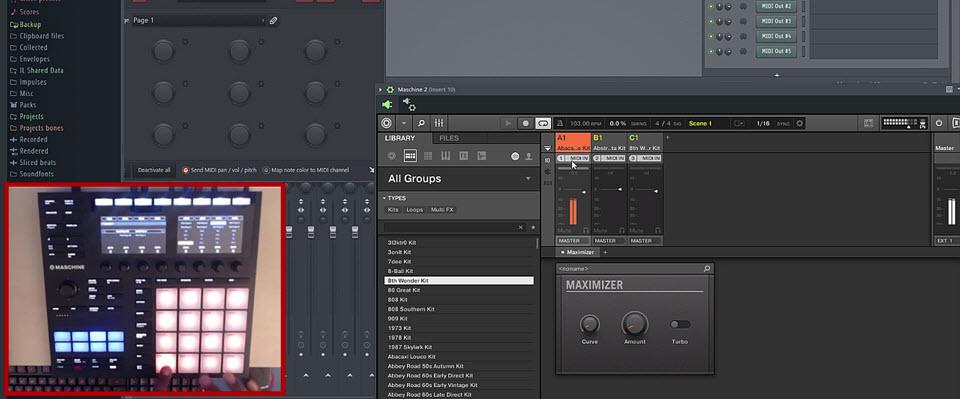 Maschine 2.6.9 – Sequencing in FL Studio