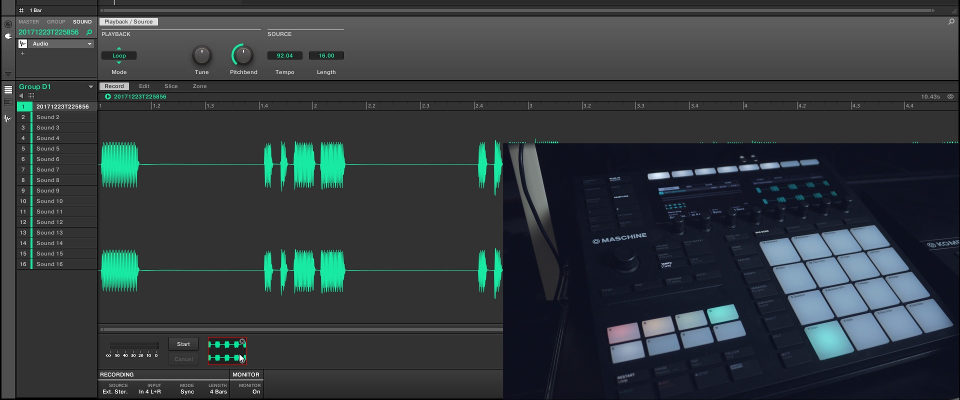 Maschine 2.7 – Using The Audio Plug-in With External Gear
