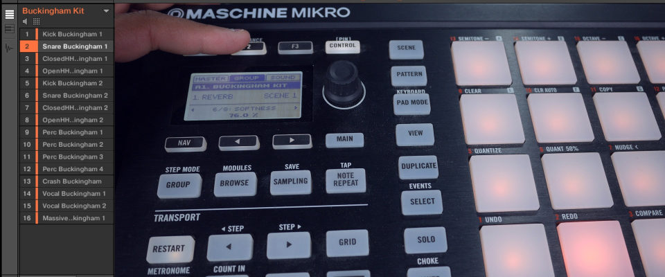 Maschine Mikro – How To Use FX On The Whole Group