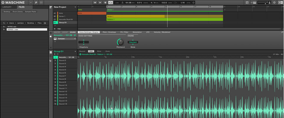 Importing Stems From Your Daw & Building Your Beat In Maschine
