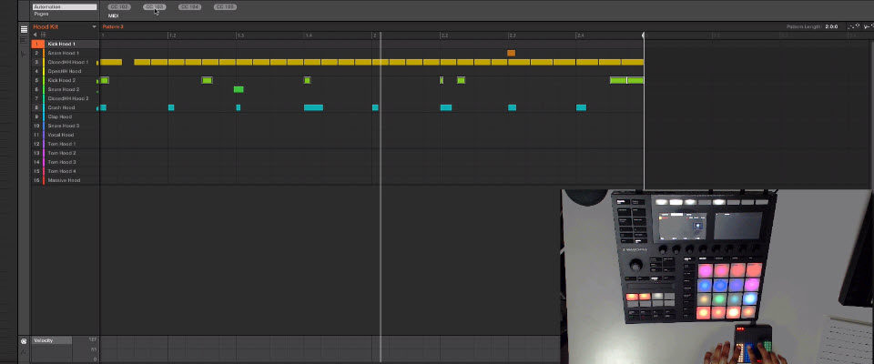 Stoni Show's How to Use Roli Lightpad Block with Maschine's Perform FX