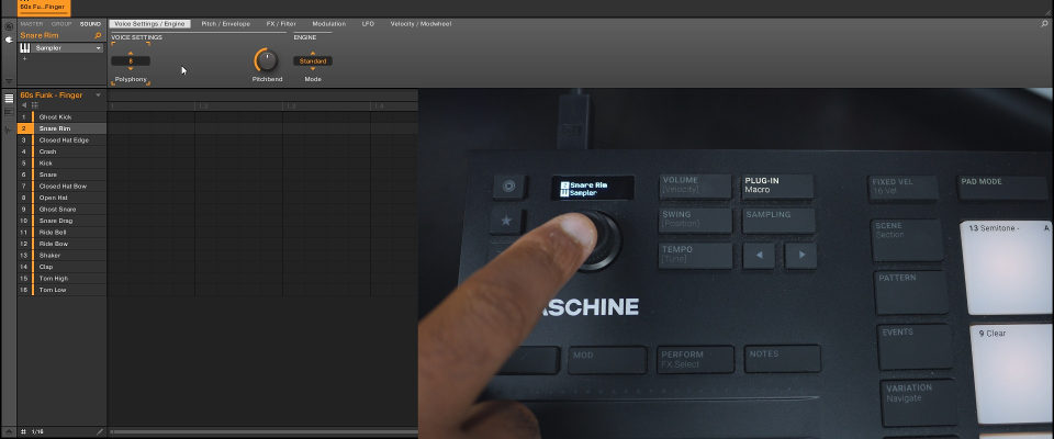 Maschine Mikro MK3 – Editing Parameters & Macros