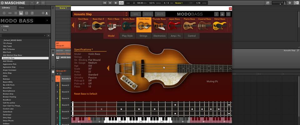 Free IK Multimedia MODO Bass NKS Presets