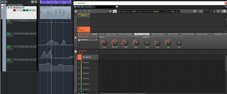 Recording Maschine Automation in Cubase 10