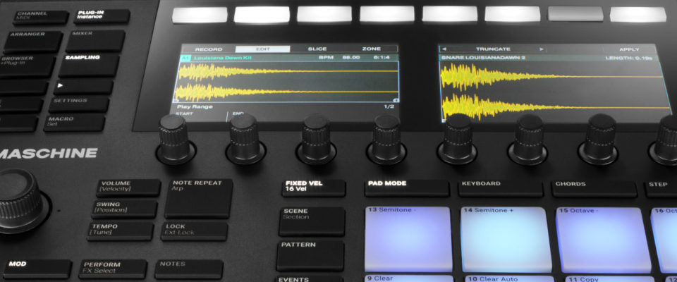 Maschine MK3 Hardware Quickstart Course