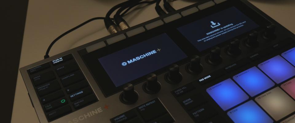 Maschine Plus – Updating the Firmware